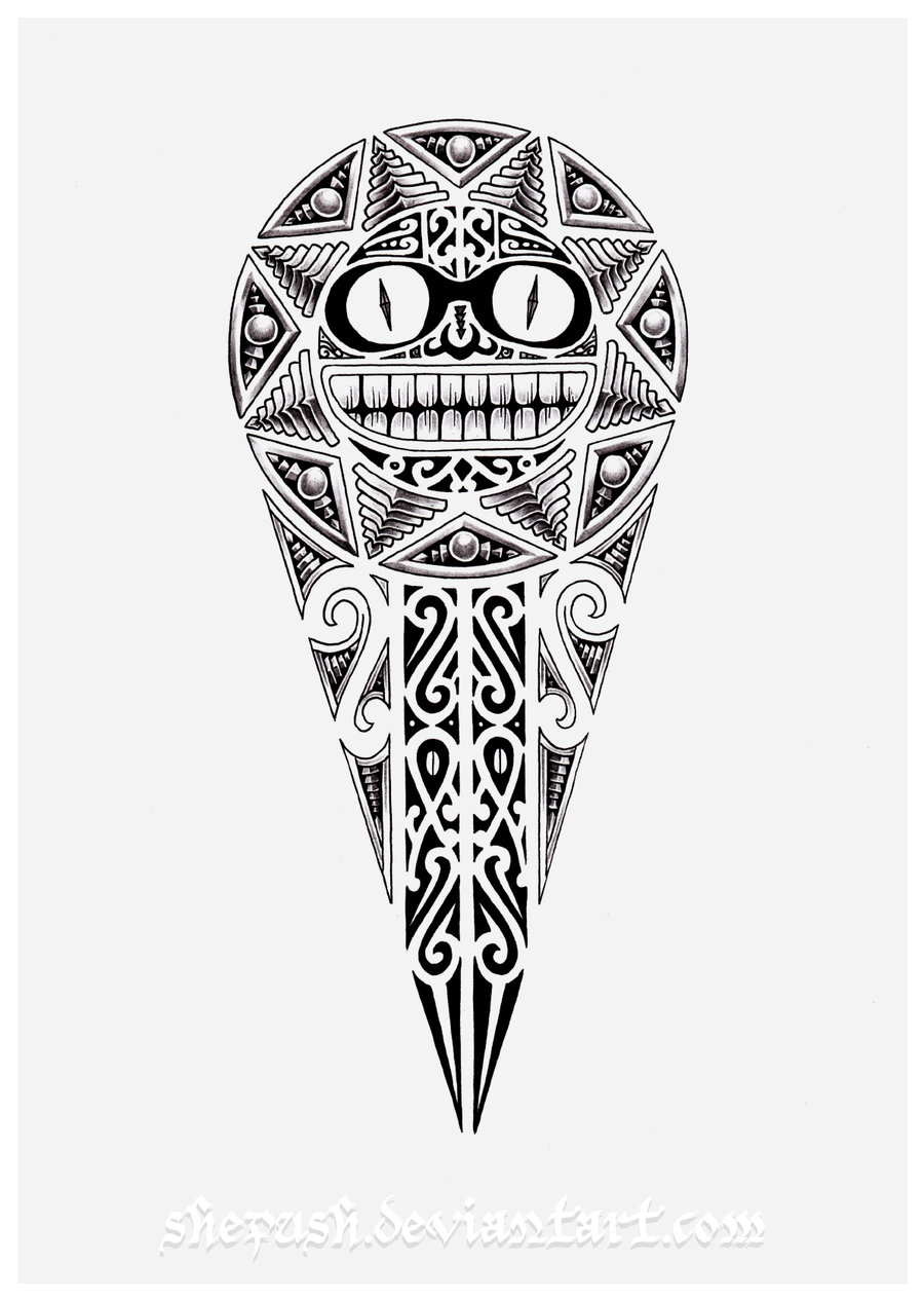 tattoo-design-2009-2011-shepush-inspired-by-maori-culture-more-add-a ...